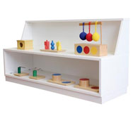 Mueble montessori espacio nido nº1  (0-3)