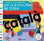 Buscar a la abejita… en la estación de tren - catalán la unidad