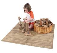 Construcción natural los troncos 40 piezas