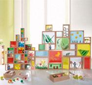 Bloques ventanas set de 21 piezas