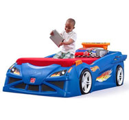 Cama coche hot wheels