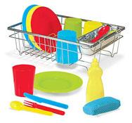 Lavar los platos 24 piezas