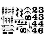 Símbolos musicales magnéticos set2 33