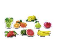 Magnéticos de madera las frutas 8