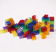 Brick de colores traslúcidos 90 piezas