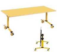 Citrus drop-down table 150 x 70 cm (s4)