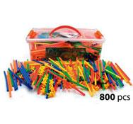 Construcción arquitectura 800 piezas 800
