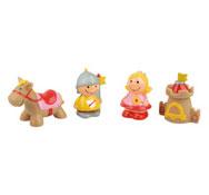 El castillos muñecos de goma 4
