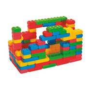 Construcción bricks medium 120 piezas 120