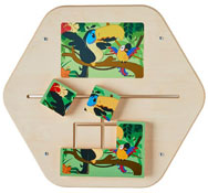Panel de juego mini puzzle rio