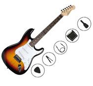 Guitarra electrica con amplificador infantil