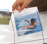 Alfombrilla cuadrilla transparente para bee-bot® Pack de 1 unidad
