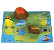 Alfombrilla isla del tesoro para bee-bot Pack de 1 unidad