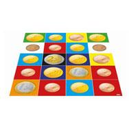 Alfombrilla monedas del euro Pack de 1 unidad