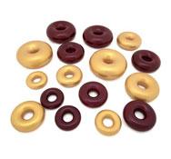 Los donuts metalicos LOTE 16