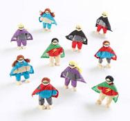Figuras de superhéroes LOTE DE 10
