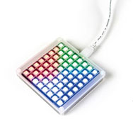 Rainbow scratch matrix