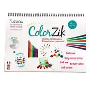 Kit instrumentos Color Zic 4