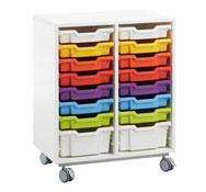 Furniture white nr 12 with rainbow buckets (catalogue composition)