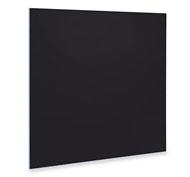 Panel imantado y pizarra NEGRA 100 x 100 cantos pvc