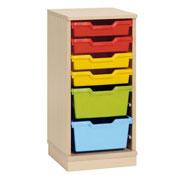 Mueble gamma 1 con cubetas variadas (comp.catalogo)