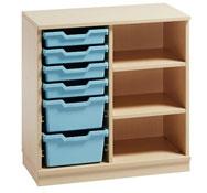 Mueble gamma 11 con cubetas y estantes (comp.catalogo)