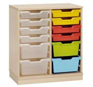 Mueble gamma 2 con cubetas variadas (comp.catalogo)