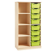 gamma cupboard 111 up to 8 trays + 3 shelves with trays
