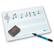 Pizarra individual para aula de musica SET DE 35 PACK