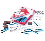Conjunto pizarra individual para aula de musica lore de 30 conjuntos