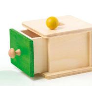 Caja de permanencia con cajón corto-verde