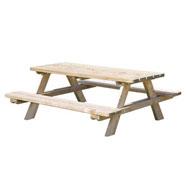 Mesa pícnic Talla adulto