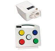 Iluminador de fibra óptica con cambiador de color