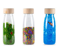 Botellas sensoriales Eco pack 3 unidades