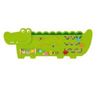 Panel de juego cocodrilo
