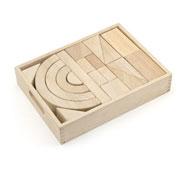 Construcción grandes bloques con caja lote 42 piezas