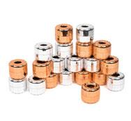 Discos metálicos apilables sensoriales pack 20  piezas