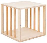 Cubo con barrotes 40x40x40 abierto 2 caras
