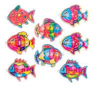 Mini juego de habilidad laberinto los peces 48 unidades