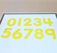 Números translúcidas silicona 26 piezas