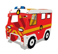 Camión de bomberos citytruck