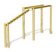 Escalera horizontal ps37