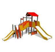 Estructura tobogan acero inox. irp6228
