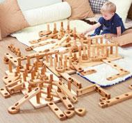 Apila y construye - bloques gigantes set de 28 piezas