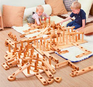 Apila y construye - bloques gigantes MEGA PACK set de 84 piezas