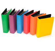 Álbumes de fotos grabables rainbow a5 Pack de 6 unidades