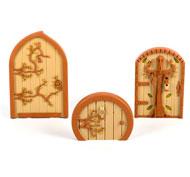 Colección de puertas del bosque pack de 3 unidades