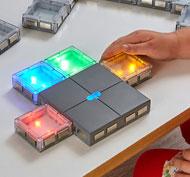 Baldosas luminosas conectables Pack de 26 unidades