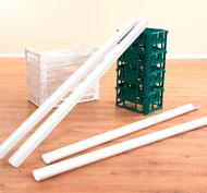 Canalón de plástico Pack de 6 unidades