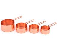 Tazas para medir oro rosa Pack 4 unidades
